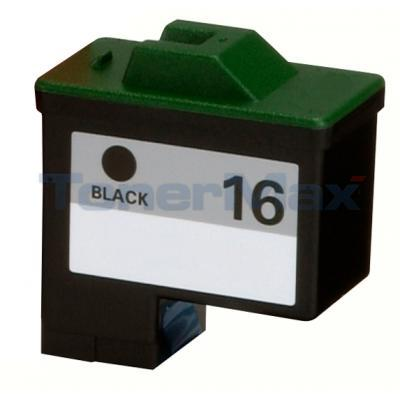 LEXMARK NO 16 PRINT CARTRIDGE BLACK